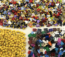 Lego NEW Minifigures 1-500 People Mixed Heads Torsos Legs Hair Series