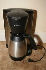 Capresso 485.05 Mt600 Plus 10 Cup Programmable Coffee Maker w Thermal Carafe