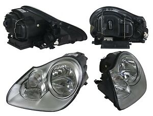 New Driver Side Halogen Headlight FOR 2003 2004 2005 2006 Porsche Cayenne