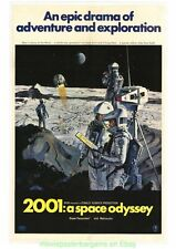 2001: A SPACE ODYSSEY MOVIE POSTER B  11x17 With Plastic Holder STANLEY KUBRICK