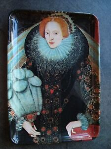 Melamine Pin Dish With Portrait of Queen Elizabeth I