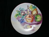 Antique Porcelain Hand painted China Fruit Plate signed by Haynes