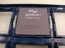 Intel Pentium MMX A80503166 SL27K Socket 7 Processor CPU