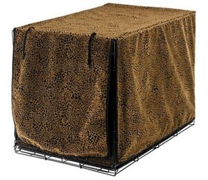 Frontgate Luxury Pet Crate Cover Size Small - Urban Animal Fabric