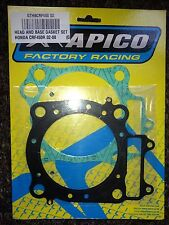 HONDA   CRF450 R  CRF 450 R  CR450F  2002-2008  APICO TOP END GASKET SET