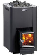 NEW! Harvia 20SL Woodburning Sauna Heater, Free Eucalyptus