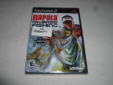 BRAND NEW FACTORY SEALED PLAYSTATION PS2 GAME RAPALA PROBASS FISHING NFS SONY >>
