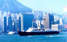 ROYAL YACHT BRITANNIA IN HONG KONG FOR HANDOVER IN 1997 - ROYAL NAVY - 8 PHOTOS