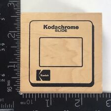 JudiKins Rubber Stamp Kodak Picture Frame Kodachrome Slide Vintage 3172F T417