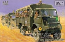 Camion scala 1/72 BEDFORD QLT 4X4 TROOP CARRIER - IBG 72003
