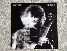 1988 Jimmy Page Outrider Promotional Flat Record Store Promo POSTER zeppelin