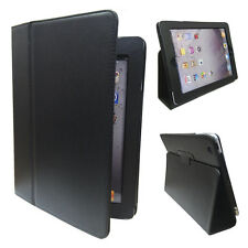 Stylish Black Stand Case with Magnetic Lock for Apple iPad 4 / 3