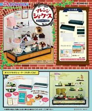 Re-Ment Miniature Dessert Cake Shop Showcase Cabinet Set