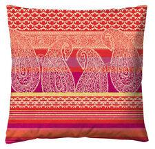 Cojín de color principal rojo 100% algodón para el hogar