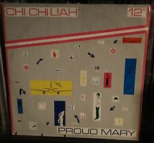 "Chi Chi Liah-Proud Mary 12"" Mix Italian issue 1983 CCR Creedence cover Synth pop"