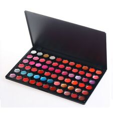 66 Colour Lip Gloss Palette Makeup Set Cosmetic Lipstick Beauty Case Lipgloss