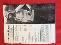 m78a ephemera 1972 film advert the mechanic charles bronson jill ireland