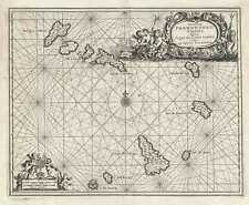 1686 Dapper Map of the Cape Verde Islands