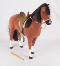 "American Girl Felicity's 18"" Bay Horse Penny w 2 Saddles"