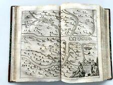 ANTIQUE DAPPER TRAVEL GUIDE IRAQ IRAN ARABIA PERSIA TURKEY MECCA HAJJ 1681