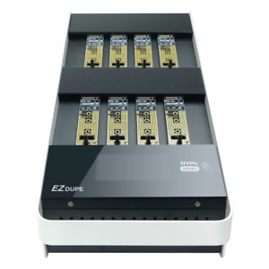 EZ Dupe 1:7  NVME M.2 PCIe SSD Duplicator/Sanitizer  2GB/Min Copier/Eraser