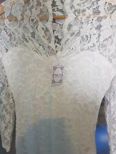 Brautkleid hochzeitskleid Standesamtkleid Spitze Gr 36