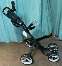 CaddyTek Dark Grey Panther Model 4 Wheel Golf Cart