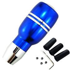 Blue Automatic Gear Stick Shift Knob Universal Car Truck Aluminum Shifter Lever