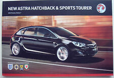 OPEL Astra. Hatchback & Sports Tourer. 2012 Modelos Ed.1. FOLLETO de ventas