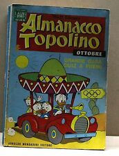 ALMANACCO TOPOLINO - OTTOBRE 1968 [fumetto, albi d'oro, n.10, walt disney]