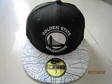 New Era Cap Golden State Warriors 59FIFTY Fitted Cap/Hat size 7/55.8cm(black)1pc
