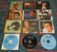 Elvis Presley 12 CD Lot: Memphis, Now, Golden, 56, Peace In Valley, Best Of, etc