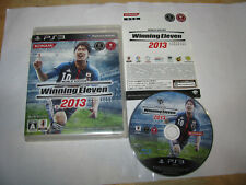 World Soccer Winning Eleven 2013 Playstation 3 PS3 Japan import US Seller