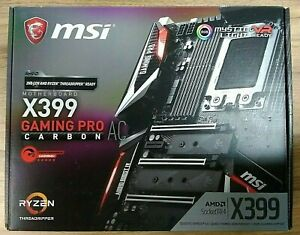 Placa Base MSI  X399 GAMING PRO CARBON AC TR4 Motherboard