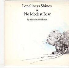 (EM709) Malcolm Middleton, Loneliness Shines / No Modest Bear - 2005 DJ CD