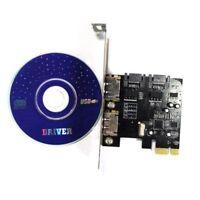 PCI-E Express SATA3 SATA3.0 6Gb/s eSATA SATA III Card ASMEDIA1061