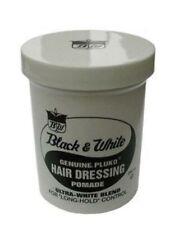 Original Black and White Pluko Hair Wax 200ml Tub