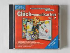 PC CD-ROM Glückwunschkarten Vol 2 Selbst gestaltete 100 Vorlagen