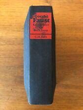Goethe Miniaturbuch Minibuch Faust I   Prachtausgabe