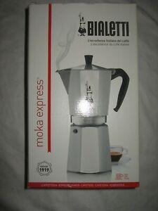 Bialetti Moka Express 18 Tassen Espressokanne