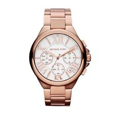 New Michael Kors MK5757 Ladies Rose Gold Chronograph Designer Watch - UK Seller