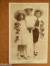R&L Postcard: The Bondman, Miss Grace chalmers With Dannie & Mona, 1912