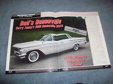 """1960 Pontiac Bonneville 4-Door Vista Article """"Dad's Bonneville"""" ---From 2012---"""