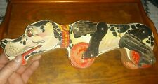 Vintage Fisher Price Pull Toy Snoopy Sniffer #180 Beagle Dog