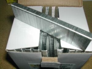 "Staples 18 Gauge Medium Crown x 7/8"" for Bostitch SL Staple Guns (50,000) 5807PG"