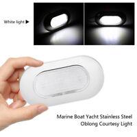 6 LED 12V STAINLESS STEEL CABIN DOME LIGHT - Marine/Boat/Caravan/RV Ceiling Lamp
