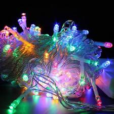 Festival Holiday Hanging Tree Lights for Indoor Outdoor String Lights 100 Bulbs