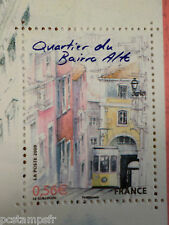 FRANCE, 2009, timbre 4404 CAPITALES EUROPEENNES, LISBONNE FUNICULAIRE, MNH STAMP