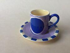 Maxwell /& Williams Graphique Conjunto de 4 Tazas y Platillos Café Espresso Demi