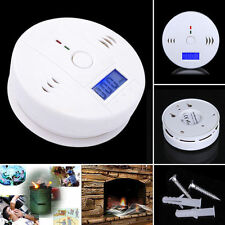 CO Carbon Monoxide Tester Poisoning Gas Sensor Warning Alarm Detector LCD KY2017